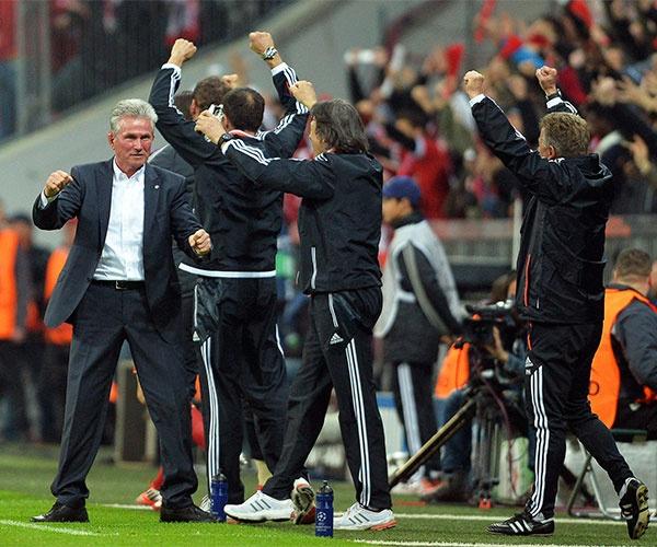 Partido Bayern - Barcelona / Allianz Arena  / Ida 4-0 / 23 de Abril de 2013