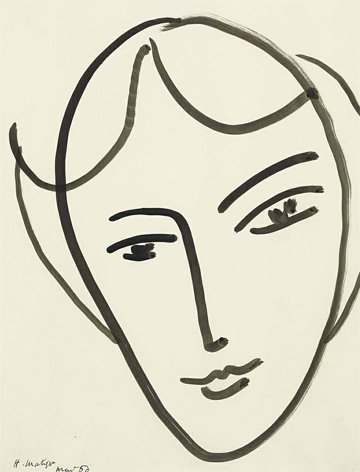 Line Drawing Matisse : Images about matisse s drawing on pinterest