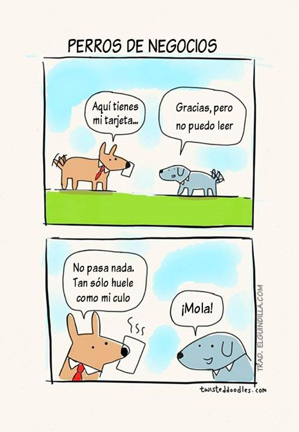 Perros de negocios. #humor #risa #graciosas #chistosas #divertidas
