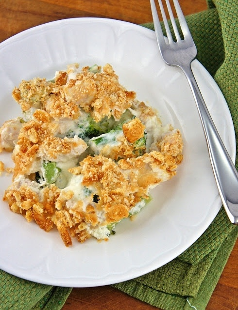 Chicken Broccoli Casserole – chicken, broccoli, cr…