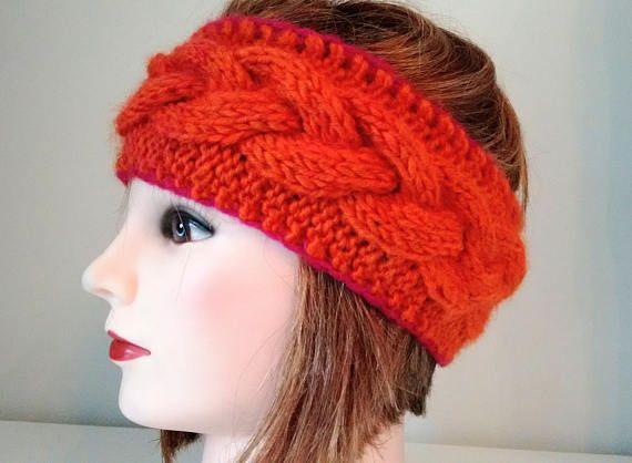 Cable Headband Knit Headband Headband Women Available in 2