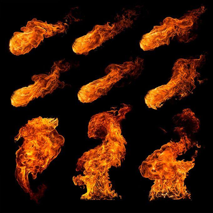 燃烧的烈焰高清图片