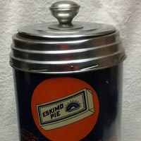 1920 S Eskimo Pie Counter Top Cooler Coffee Cans Drinks