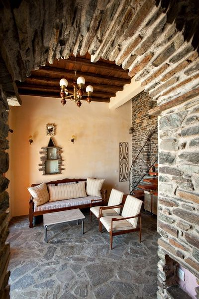 #holidays #decoration The Orange House -Tinos Habitart a #vacation house with island style and elegance http://www.tinos-habitart.gr/orange-house.php