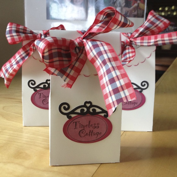 Cricut Artiste treat bag