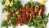 glazed salmon  This versatile recipe is great for a weeknight or a special occasion. Everyday Food editor Sarah Carey teaches you how to make flavorful glaze that can go with any fish.