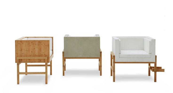 Poltronas MARIA Design : Atelier Crudo