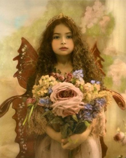 ≍ Nature's Fairy Nymphs ≍ magical elves, sprites, pixies and winged woodland faeries - wee faerie
