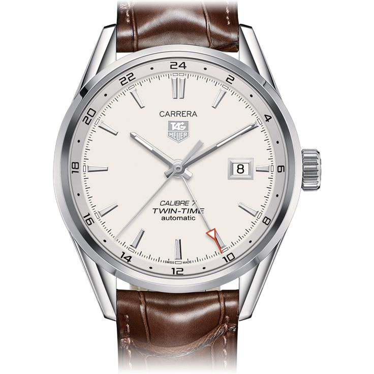 TAG Heuer TAG Heuer CARRERA Calibre 7 Twin Time Automatic Watch 41 mm