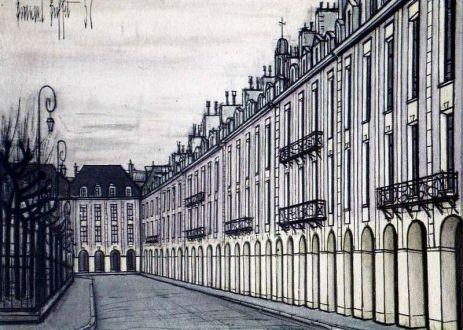 La place des Vosges en 1900