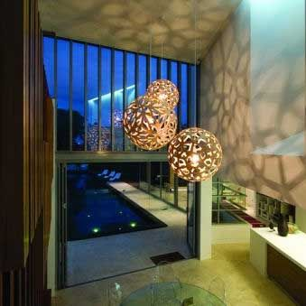 David Trubridge Pendants Great For Foyers And Large Voids Available In Many  Configurations. Easily Fitted With LED Globes For Low Maitance