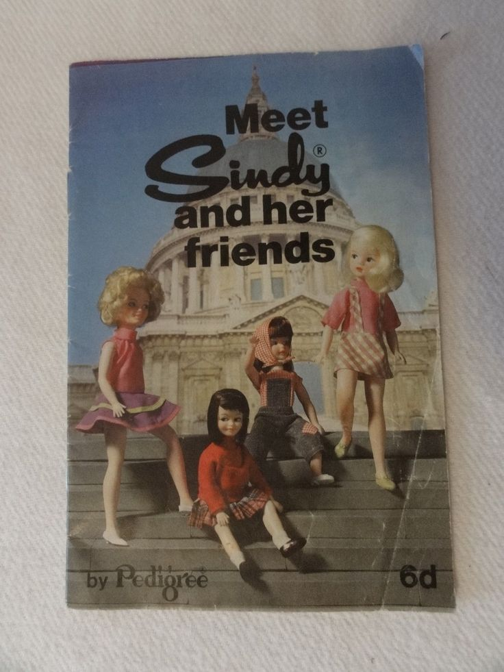 Vintage PEDIGREE Meet Sindy & her friends Catalogue Booklet Poppet & Patch 11+1
