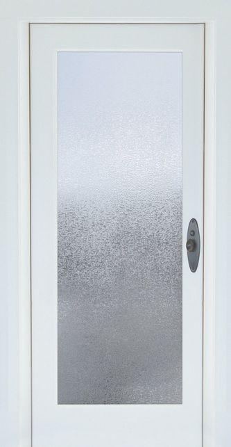 Glacier Decorative Window Film - Embossed Vinyl Glass Covering