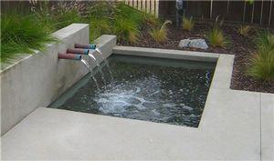 Contemporary Outdoor Fountain - Info Center   Stonebtb.com