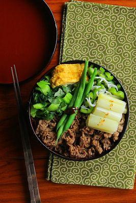 牛めし弁当 | 日本の片隅で作る、とある日のお弁当