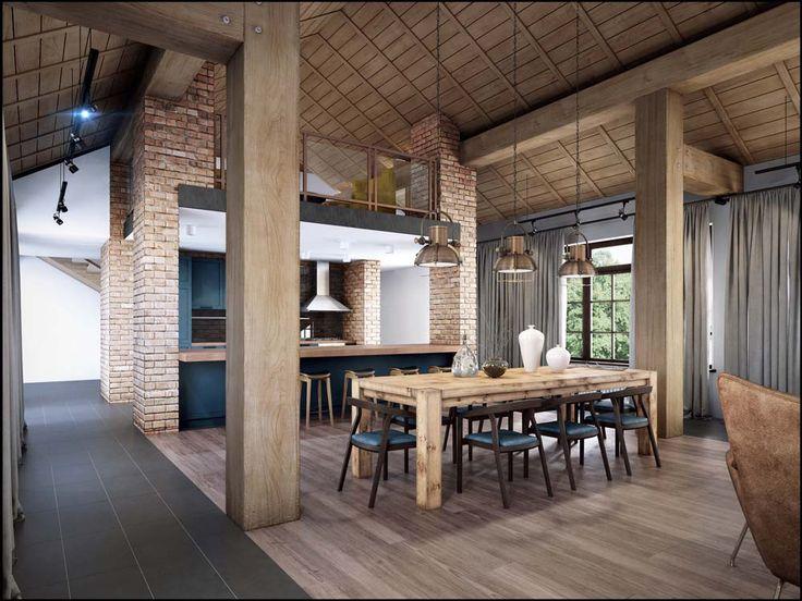 nowoczesna STODOŁA / yunakovdesign – nowoczesna STODOŁA | wnętrza & DESIGN | projekty DOMÓW | dom STODOŁA