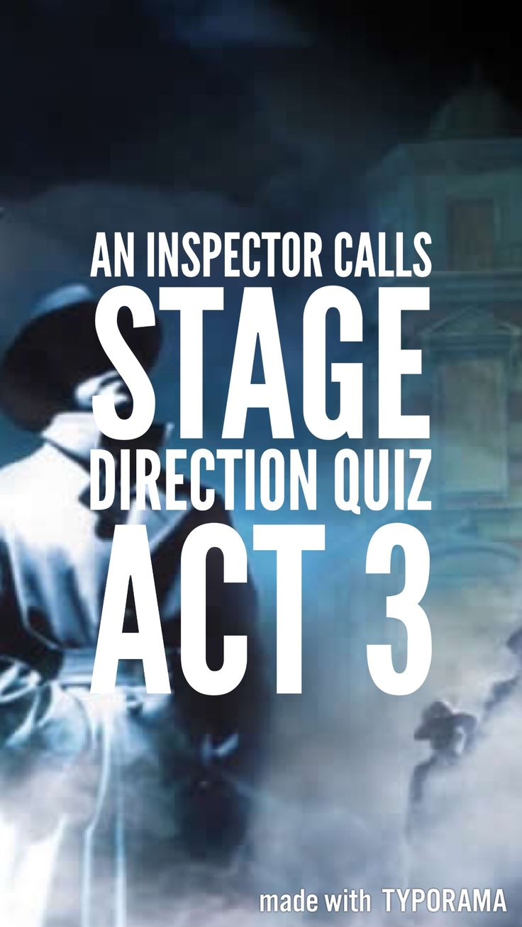an inspector calls act one Reading act one pages 1-10 a family celebration 5 'one of the happiest nights of my life' 5 class tensions - the crofts and the birlings 6 before you start reading an inspector calls, here are two activities which introduce.