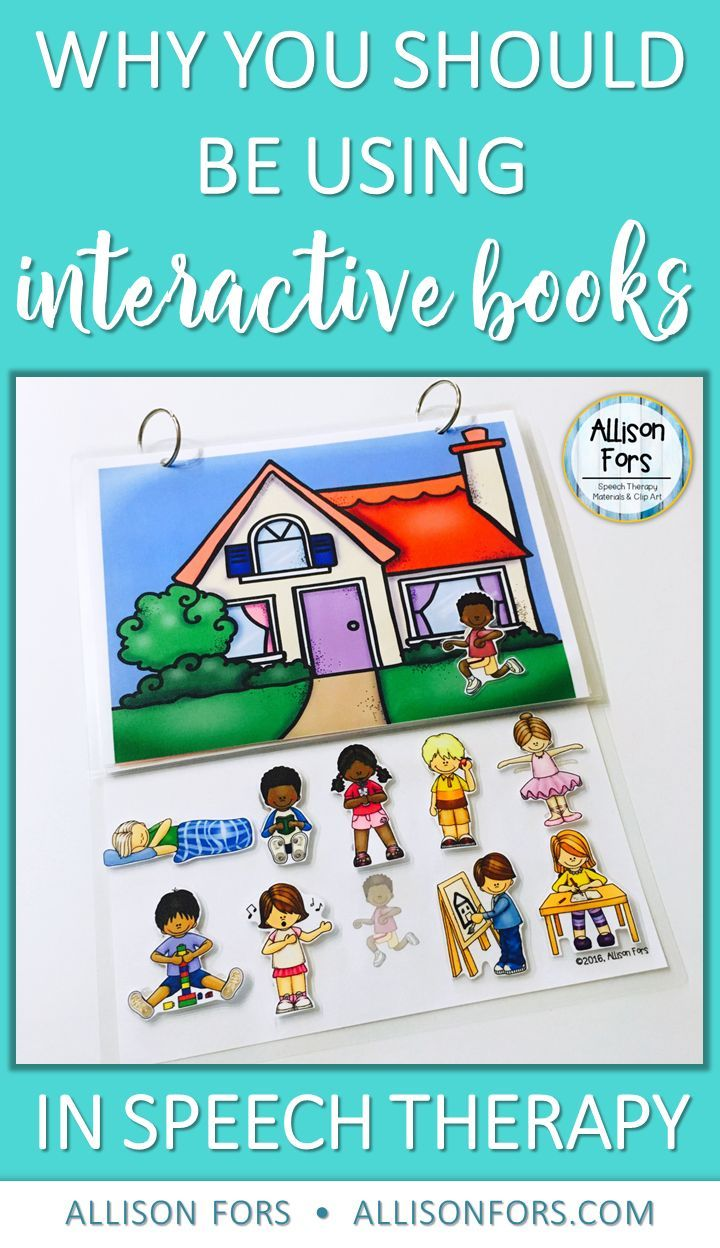 Why You Should Be Using Interactive Books in Speech Therapy!