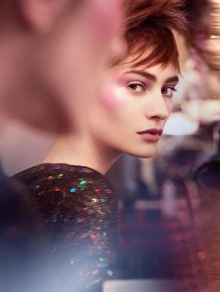 Harper's Bazaar Germany - Moulin Rouge Marine Deleeuw Credits for this picture:  Benjamin Lennox (Photographer)