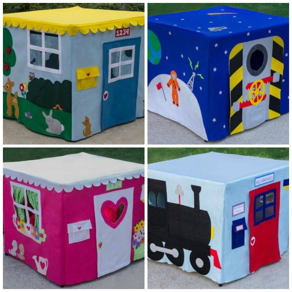 come WIN one of these adorable cardtable playhouses!  ~GIVEAWAY GOING ON NOW @Debra Keffer Mays SIMPLE!~