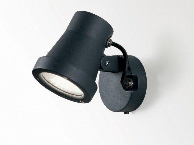 Applique a led orientabile kix by delta light per esterni