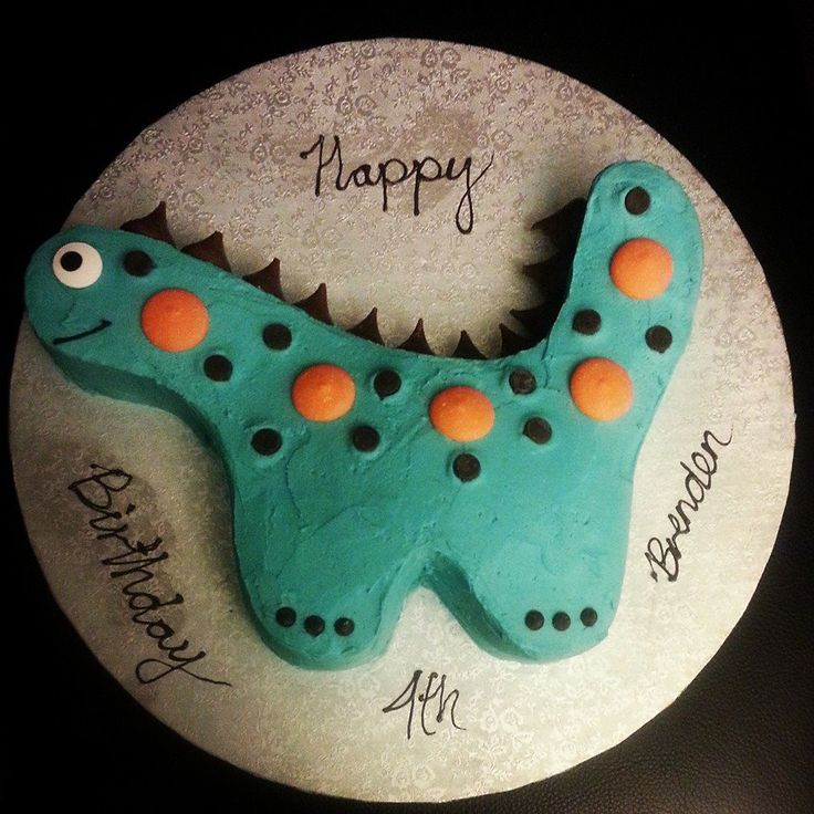 #Dinosaur inspired #birthday #cake #buttercream #pandan