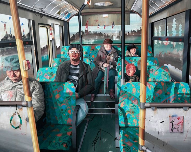 Taipei-based artist Shih Yung-Chun paints scenes from everyday life, taking inspiration from hundreds of photographs, but there's an element of the bizarre in all his crafted narratives – his subjects...