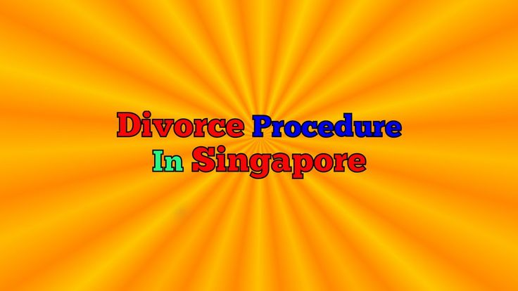 Divorce Procedure In Singapore | Divorce In Singapore - What's The Divorce Process? #divorce