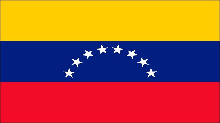 Los colores de la bandera de Venezuela