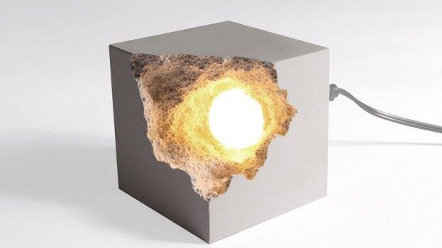 Deze kleine grot geeft verlichting in de kamer