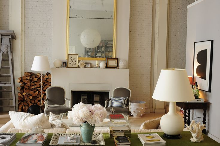 The perfectly imperfect living room of Deborah Needleman