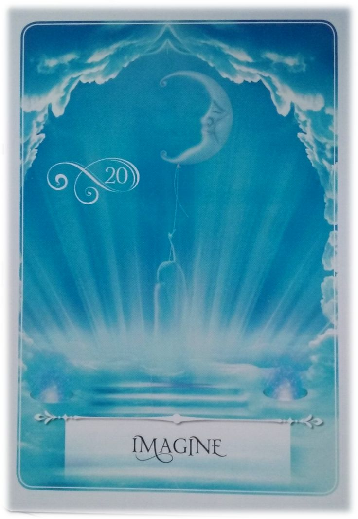 Wisdom Of The Oracle Divination Card By Colette