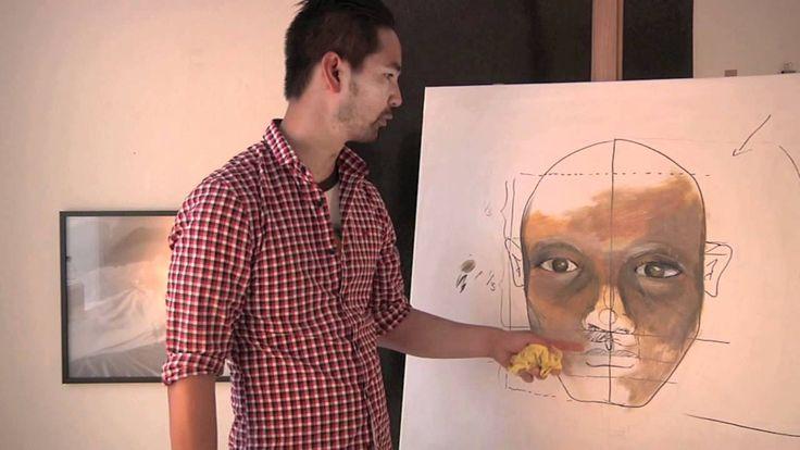 Lær at male et ansigt del 3 - næsen - med Martin Quade