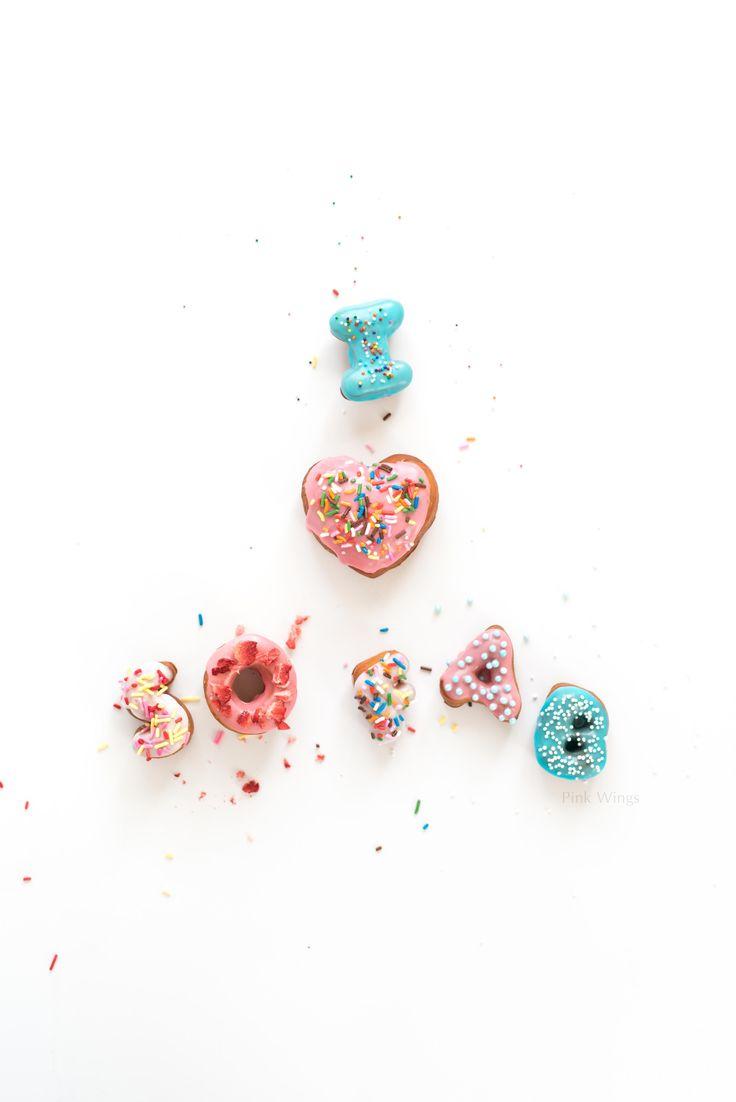 Alphabet Doughnuts