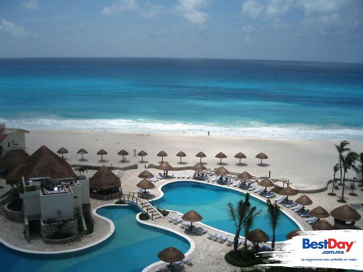 Grand Park Royal Cancún Caribe , ganador del premio 4 Diamantes de la AAA por sus restaurantes y sus excelentes servicios, es un elegante hotel rodeado por frondosos jardines y con medio kilómetro de playa privada.  El distinguido Gran Park Royal #Cancun Caribe ofrece magníficas vistas desde sus hermosas habitaciones; es el destino perfecto para quienes quieren disfrutar la famosa arena blanca y las aguas azul turquesa del Mar Caribe en Cancún. #BestDay #OjalaEstuvierasAqui