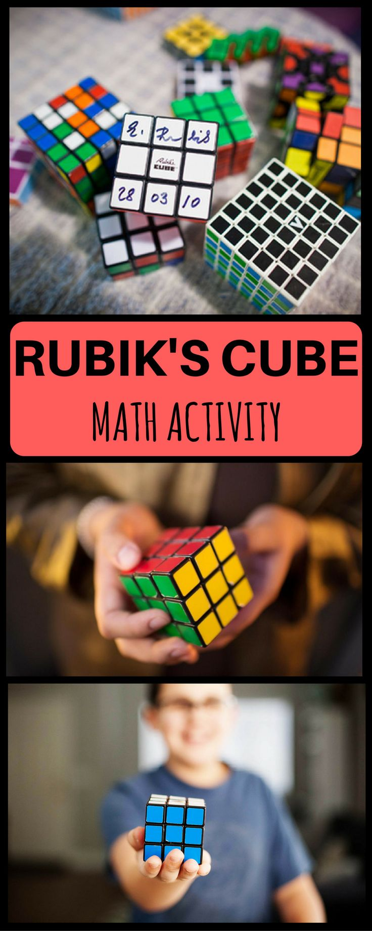 This DIY Rubik's Cube Math activity involves Rubiks Cube and is hassle-and-prep-free to be conducted in class or home for kids of all grades be it 2nd grade third grade 4th or 5th grade. Use to for reviewing math lessons be it addition, subtraction, multiplication, division or fractions or decimals.