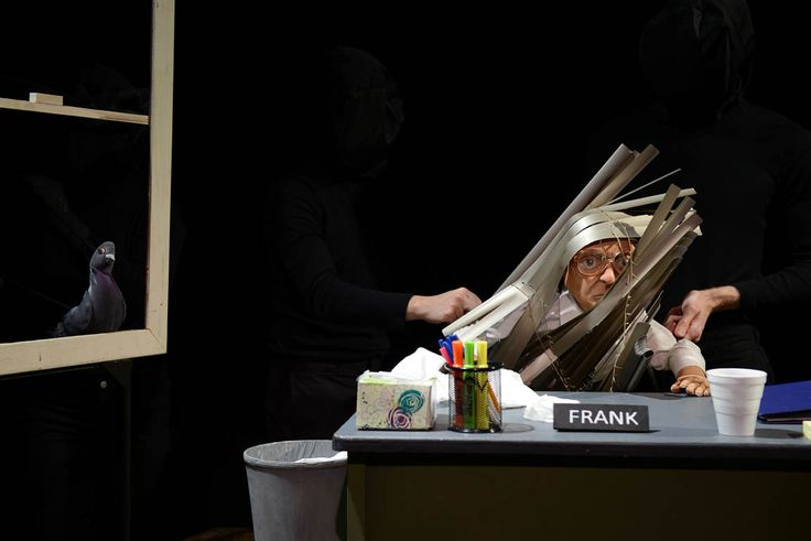 """Hailed by the New York Times as """"a tender, fantastical symphony of the imagination,"""" Robin Frohardt's The Pigeoning is a Bunraku-style puppetry theater production performed by five puppeteers with…"""