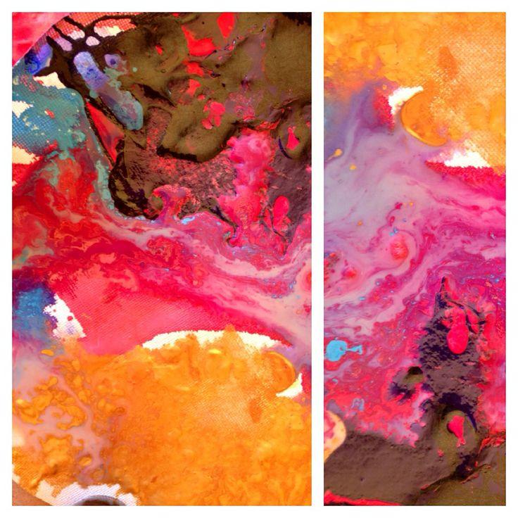 Liquid Ecstasy. Acrylic on canvas