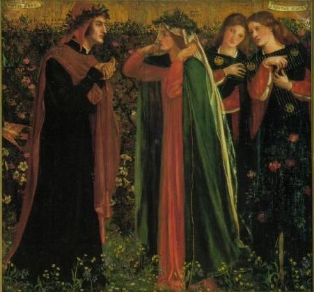Dante Gabriel Rossetti. I saw this painting at the National Gallery yesterday and I just stared. It's so beautiful.