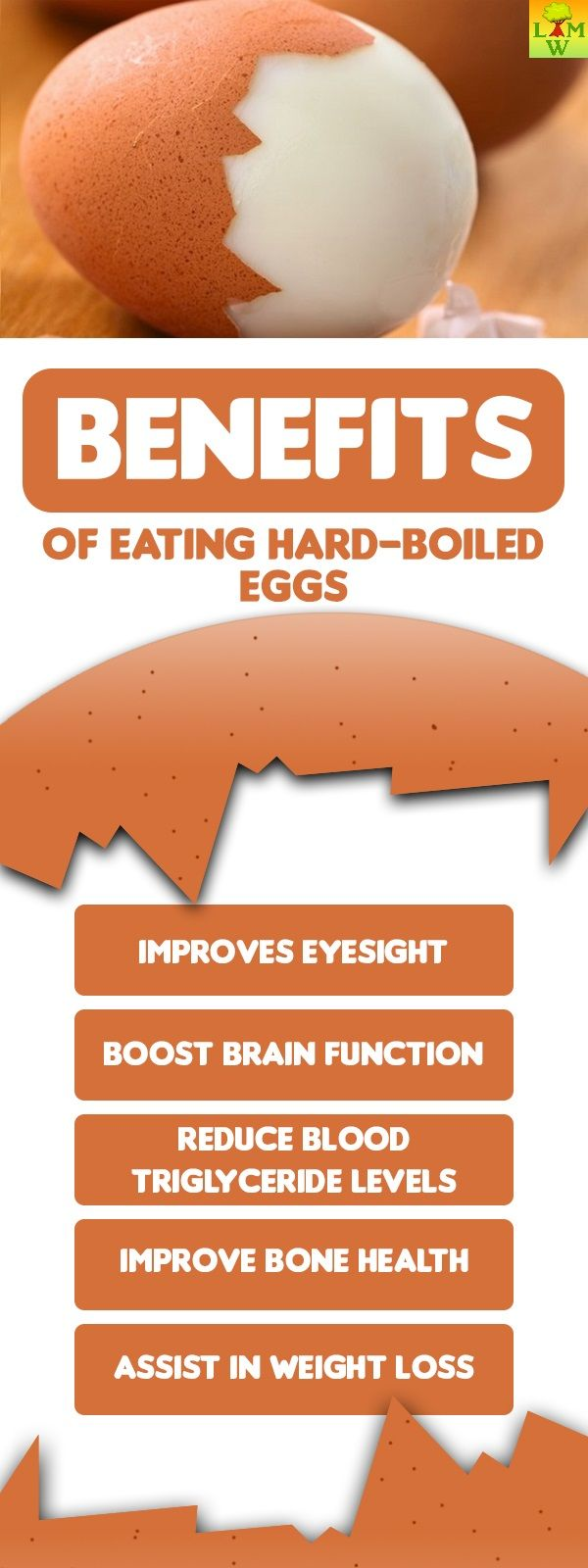 Hard-boiled eggs are quite nutritious because they are packed with vitamins, minerals, and a host of other essential nutrients.