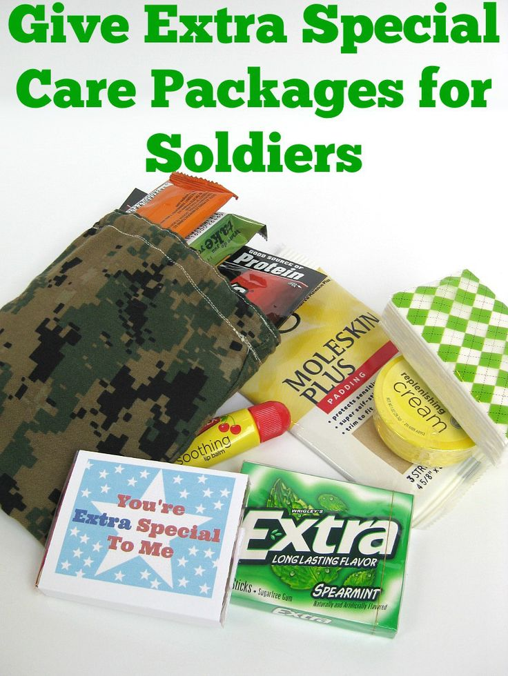 how to send care packages for soldiers