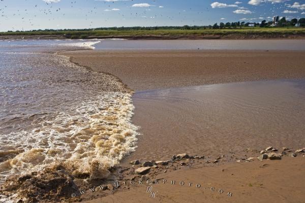 Natural Phenomenon Tidal Bore Truro Nova Scotia | Photo, Information