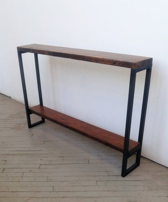 Live Edge Sofa Table Etsy In 2020 Sofa Table Live Edge Table Tops Live Edge Table