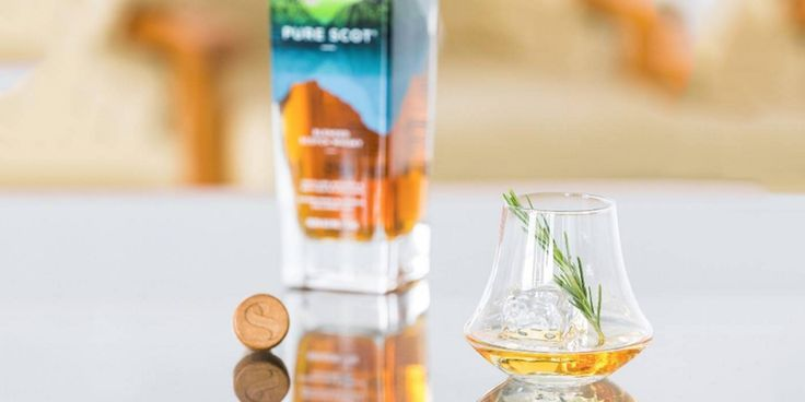 Aimed at younger whisky drinkers, Pure Scot is a contemporary spin on traditional blended whiskies from the Bladnoch distillery.
