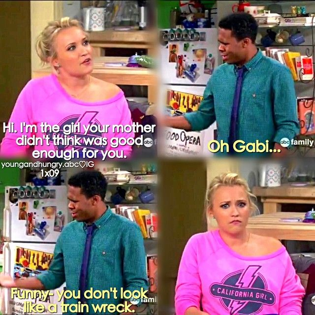 "#YoungAndHungry 1x09 ""Young & Getting Played"" - Derek and Gabi"