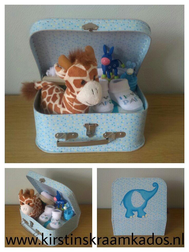Kraamkoffer Giraffe/Baby Gift Case Giraffe