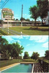 Mid Iowa Motel Newton Ia Pool Ebay