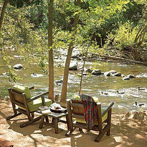 L'Auberge de Sedona - Sedona, AZ. Creekside is beautiful.