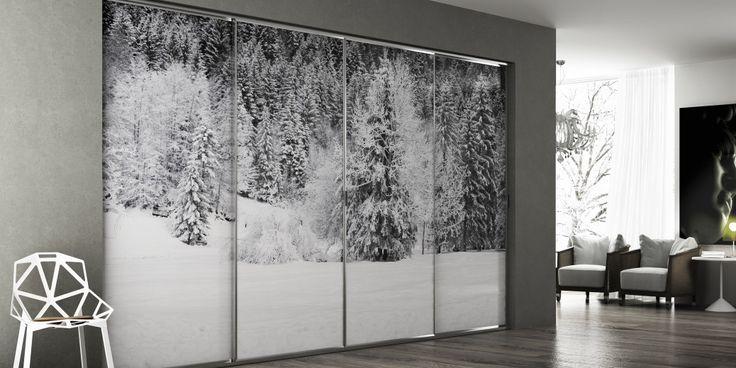 closets - Porte scorrevoli e battenti per arredamento moderno e contemporaneo