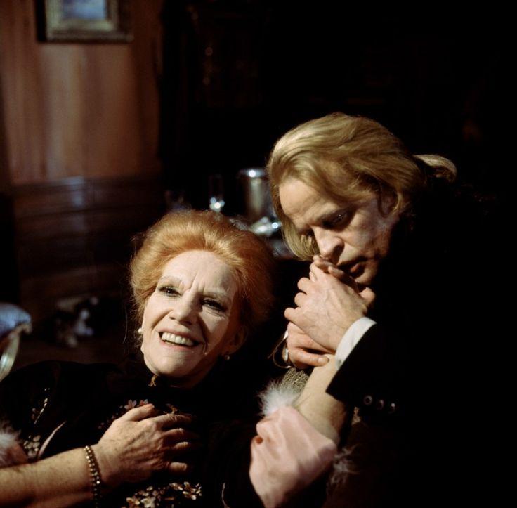 Elisabeth Flickenschildt and Klaus Kinski